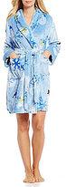 Sleep Sense Snowman-Print Plush Robe