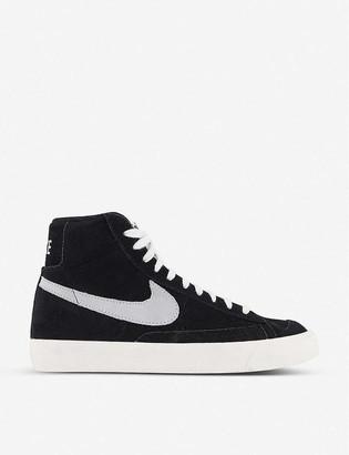 Nike Blazer 77 suede trainers