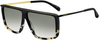 Givenchy Flattop Acetate Sunglasses
