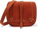 Jerome Dreyfuss Victor Nubuck Shoulder Bag - Orange