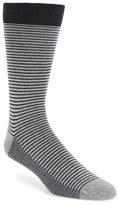 Ted Baker Men's Stripe Organic Cotton Blend Socks