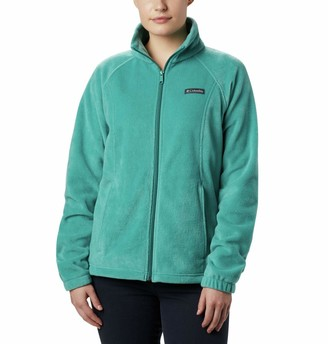 Columbia Women's Benton Springs Full Zip Jacket Soft Fleece with Classic Fit