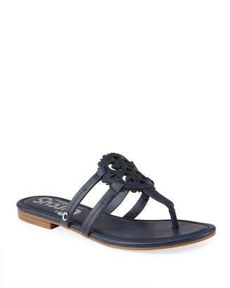 Sam Edelman Clara Medallion Thong Flat Sandals