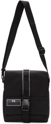 Paul Smith Black UFO Messenger Bag