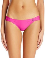 Body Glove Women's Smoothies Bali Mid Coverage Bikini Bottom
