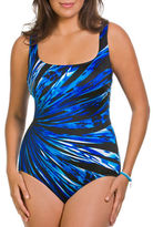 Longitude Printed One-Piece