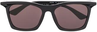 Balenciaga Eyewear Rectangular-Frame Sunglasses