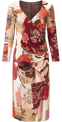 James Lakeland Rose Print Dress