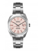 Bamford x The Webster pink dial datejust