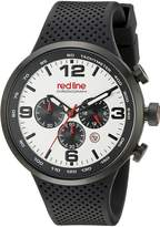 Redline Red Line Men's RL-50057-BB-02S Apex 12 Analog Display Japanese Quartz Black Watch