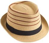 J.Crew Kids' stripe trilby hat