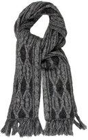 Christian Dior Mélange Rib Knit Scarf