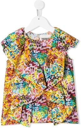 Touriste Graffiti-Print Shirt