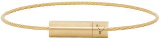 Le Gramme Gold Brushed Le 7 Grammes Bracelet