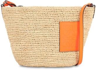 Loewe Pochette Raffia Shoulder Bag