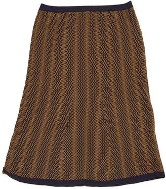 Prada Yellow Wool Skirt for Women