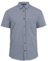 Acne Studios Isherwood short-sleeved checked cotton shirt