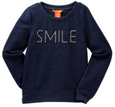 Joe Fresh Beaded Smile Sweatshirt (Big Girls) (Little Girls & Big Girls)