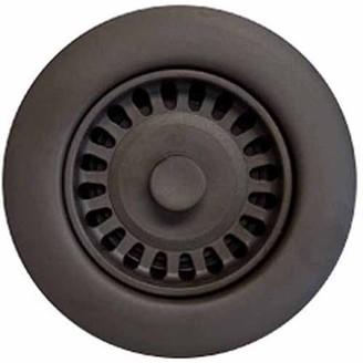 Houzer 190-9264 Sink Strainer for 3.5-Inch Drain Openings, Bronze