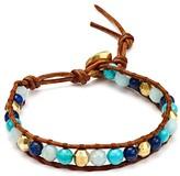 Chan Luu Turquoise & Lapis Beaded Bracelet