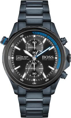 HUGO BOSS Globetrotter Chronograph Bracelet Watch, 46mm