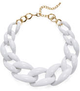 Kenneth Jay Lane Women's Graduated Link Statement Necklace