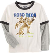 Osh Kosh Oshkosh Long Sleeve T-Shirt-Preschool Boys