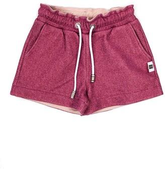 GCDS Pink Glitter Detail Shorts