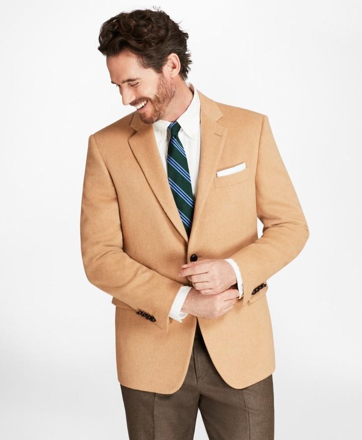 Brooks Brothers Regent Fit Camel Hair Sport Coat