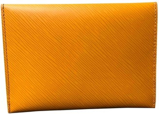 Louis Vuitton Kirigami Yellow Leather Purses, wallets & cases