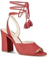Nine West 'Bellermo' Wraparound Tassel Tie Sandal (Women)