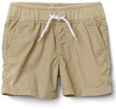 Gap Poplin pull-on shorts