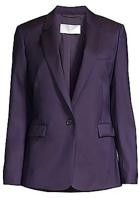 BOSS Women's Janufa1 Slim-Fit Natural Stretch Virgin Wool One-Button Suiting Jacket