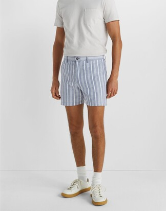 "Club Monaco Jax Copper Stripe 5"" Shorts"