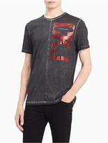 Calvin Klein Slim Fit Vertical Ckj Logo T-Shirt