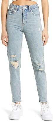 BDG Straight Leg Mom Jeans