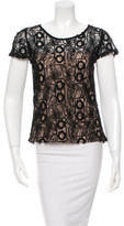 Alexis Short Sleeve Lace Top
