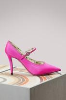 Gucci Satin Mary Jane pumps
