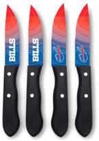NFL® Buffalo Bills 4-Piece Stainless Steel Steak Knife Set