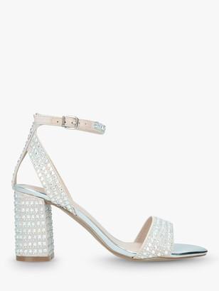 Carvela Kianni Stud Jewelled Block Heel Sandals