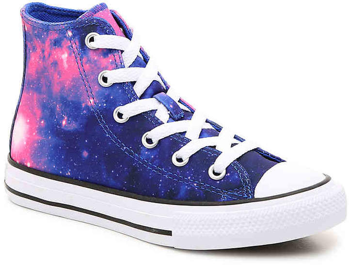 outlet store f0d29 546c4 Converse Kids Pink Converse High Tops - ShopStyle