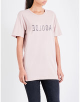A Gold E AGOLDE Graphic cotton-jersey T-shirt