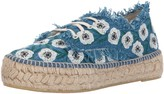 Loeffler Randall Women's Alfie Espadrille (Woven Embroidery) Wedge Sandal