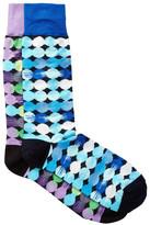 Jared Lang Space Circles Crew Socks - Pack of 2