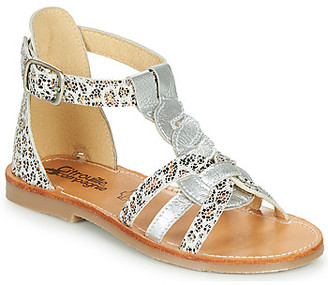 Citrouille et Compagnie GITANOLO girls's Sandals in Brown