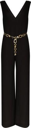 Solid & Striped V-neck wide-leg jumpsuit
