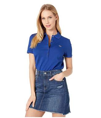 Lacoste Classic Short Sleeve Slim Fit Stretch Pique Polo