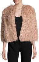 Theory Elstana 2 Cody Faux-Fur Coat