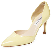 LK Bennett Flossie Patent Leather D'Orsay Pump