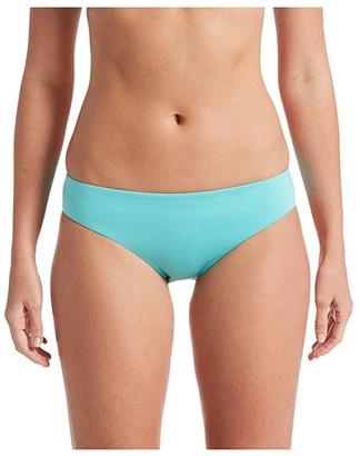 Nike Essential Scoop Bikini Bottoms (Aurora Green) Women's Swimwear